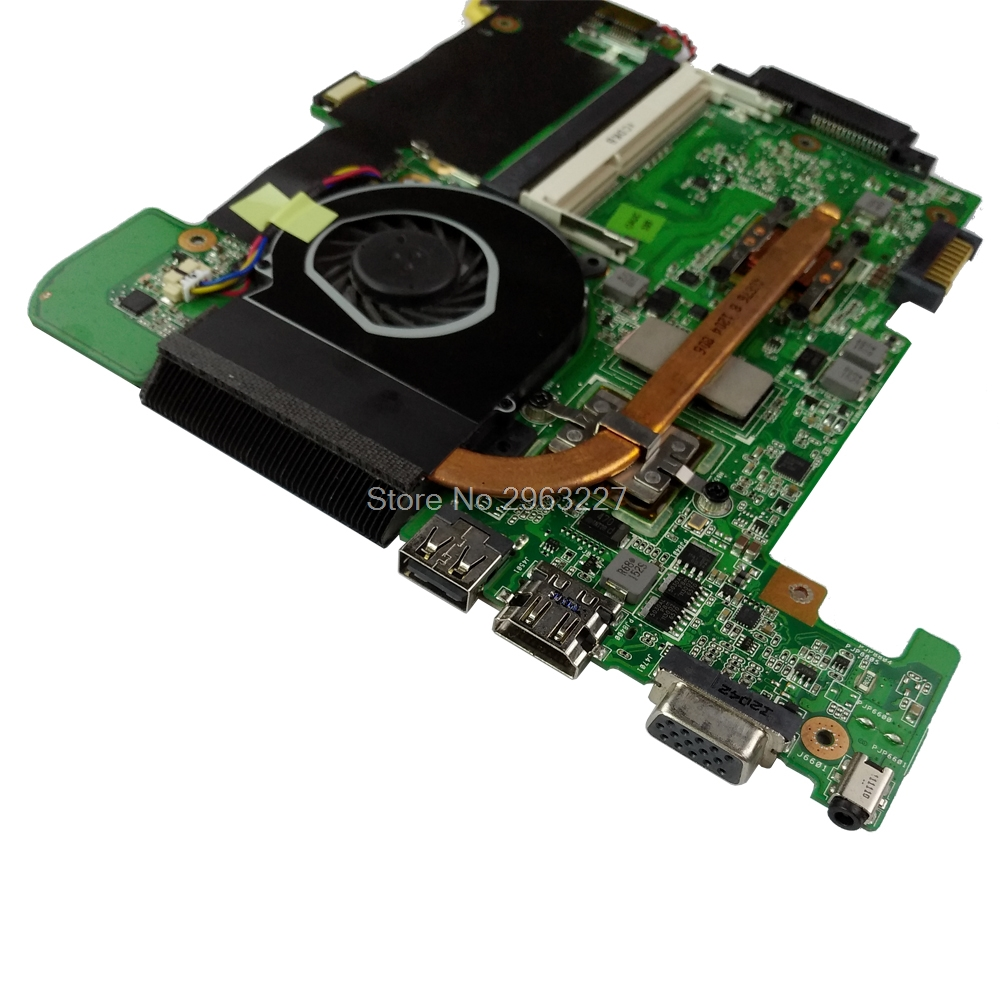 Calvas For Asus Eee PC VX6S laptop motherboard vx6s rev 2.0 mainboard 2gb ram fully tested /& working perfect