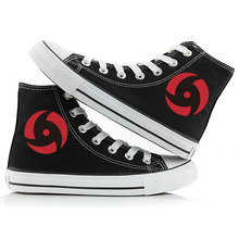 Unisex Anime Naruto Canvas Shoes Cool Printed High top Breat