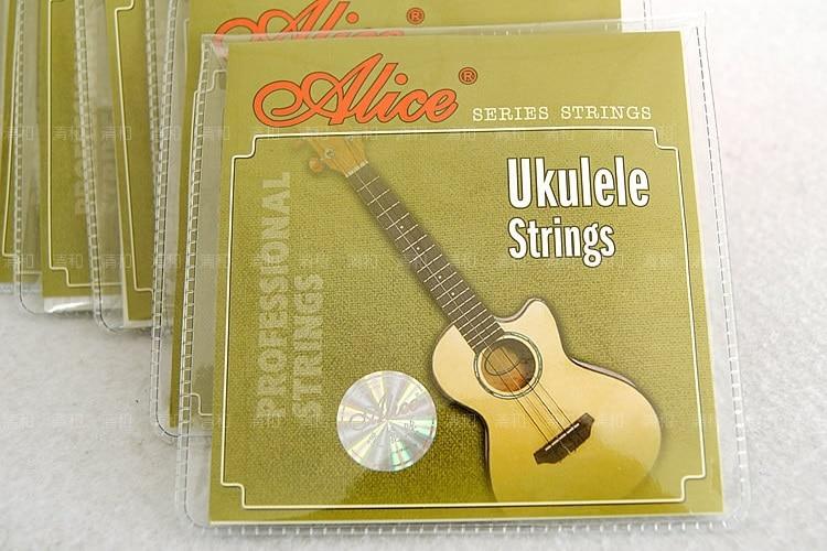 SEWS 1 set Ukulele Strings 4 pieces set, 21 23 Ukulele parts accessories - Alice AU04 alice a704 senior performance violin strings set