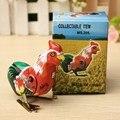 Vintage divertido Clockwork Wind Up Cock Gallo Juguetes de Hojalata Regalo Perfecto Para Coleccionar Favores Niños Juguetes Clásicos Para Niños