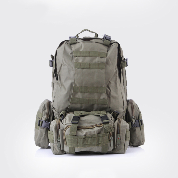 c2b17f9845 Multicam High Quality 50L Backpacks Assault Military Rucksacks Molle  Backpack Combination Bag-in Backpacks from Luggage   Bags on Aliexpress.com