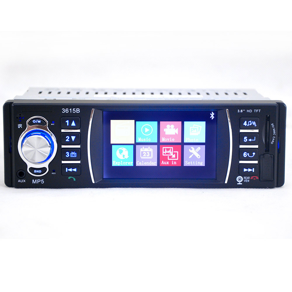 Bluetooth Car Stereo Audio In-Dash Aux Input Receiver SD/USB MP5 Player Convenience 17Sept1