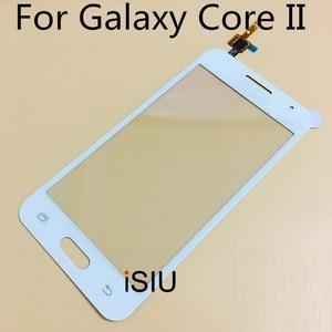 Image 5 - 4.5 شاشة إل سي دي باللمس شاشة لسامسونج غالاكسي كور II 2 Duos SM G355H G355 G355H لمس لوحة الجبهة زجاج الهاتف أجزاء