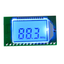1 PC PLL LCD Digital 87 108MHZ FM Radio Empfänger Modul Drahtlose Mikrofon Stereo