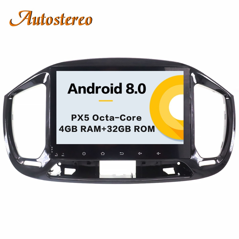 Android 8 Car GPS Navigation car NO DVD Player For FIAT Uno 2014-2017 multimedia player he