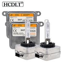 55 W D1S HCDLT Original Xenon HID Kit Luz Do Carro 4300 K 5000 K 6000 K 8000 K 35 W HID Xenon Lâmpada lâmpada D1S D3S D1R D3R ESCONDEU Kit de Lastro