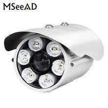 Горячая AHD камера 1080 P 2.0MP sony IMX323 высокой мощности 6 шт. белый светодио дный LED Красочный ночного видения камера водостойкий металлический корпус