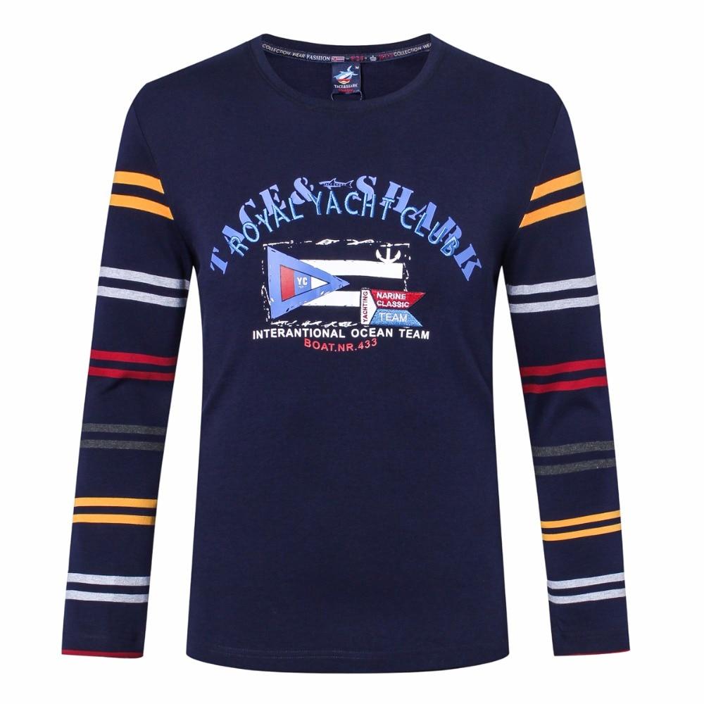 2017 осенне зимняя одежда мужская футболка с круглым вырезом в полоску с принтом брендовая одежда Повседневная хлопковая футболка с длинными рукавами Billionaire