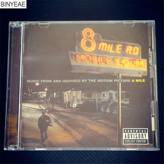 binyeae new cd seal 8 mile eminem deluxe edition 2 disk free