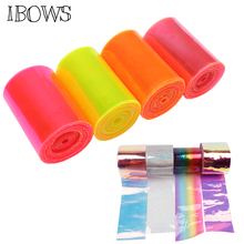 IBOWS 2yards 75mm Jelly Ribbon Transparent Leather for Decorative DIY Hair Bow Belt Accessories Wholesale Tape Materials