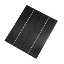 6W 18V Monocrystalline Solar Panel Epoxy Solar Cell Solar Module DIY Solar Charger For 12V Battery High Quality Free Shipping