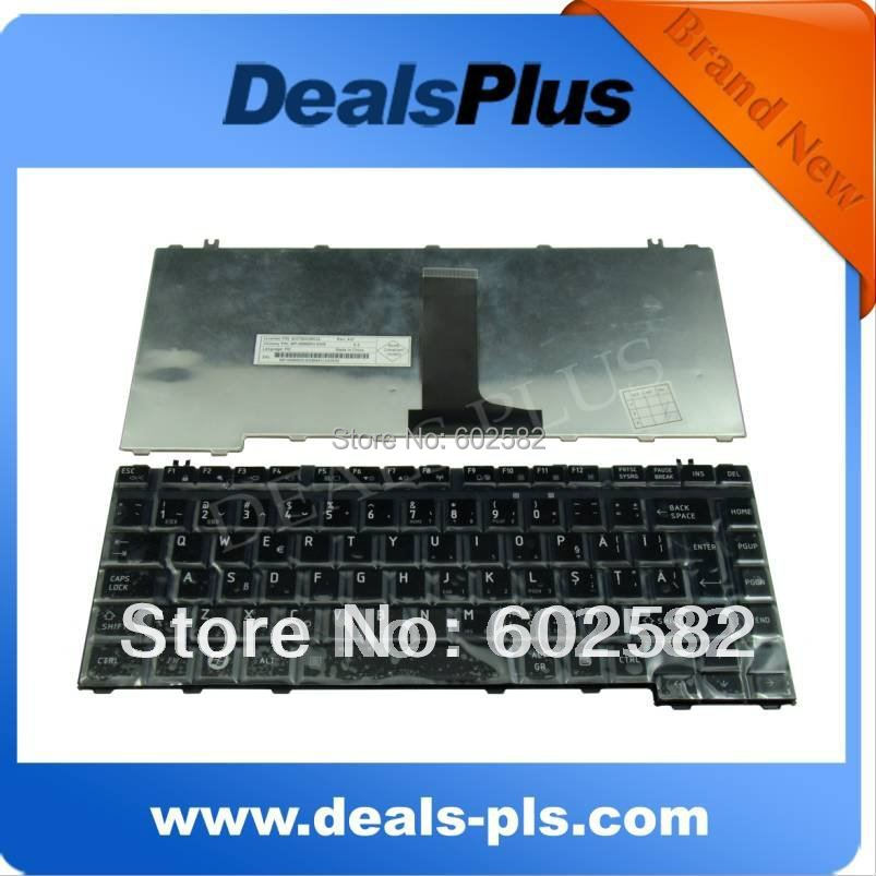FOR Brand New Toshiba A300 A300D A305 A305D Romanian Keyboard Black Glossy