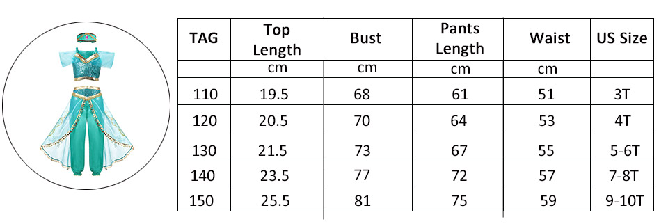 Jasmine-Size-Chart