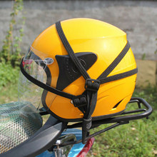 Motorcycle Helmet Bike Luggage Net Buckle Holder Rope Belt Strap Accessories(China)