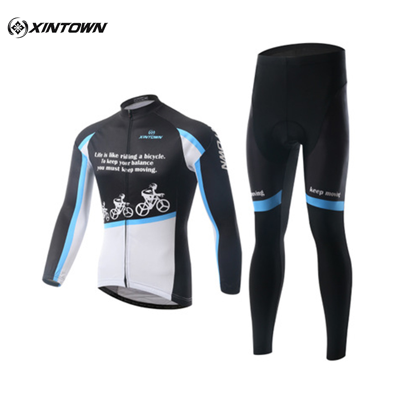 XINTOWN New Snow Riding Long Sleeve Cycling Suits Mountain Bikes Cycling Jersey Spring And Autumn Breathable Wicking Clothes07