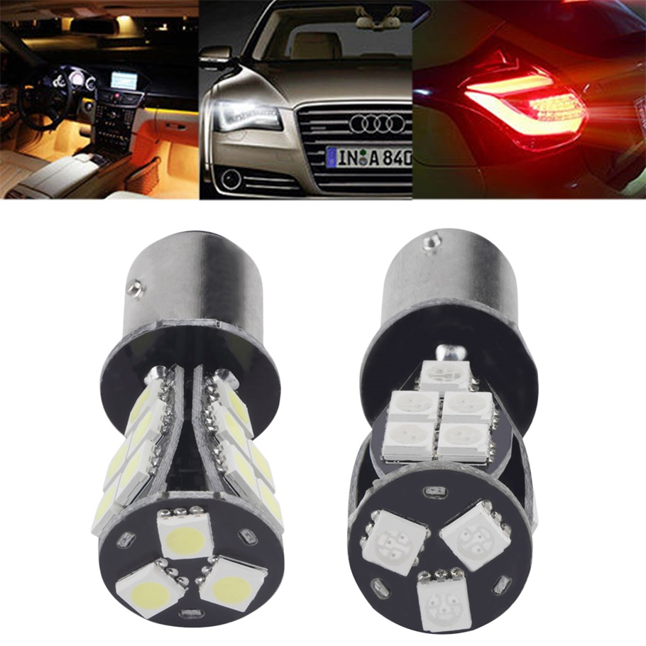 1157 BAY15D P21/5W 18SMD CANBUS Error Free Brake Tail Car LED Light Bulb clippasafe ворота безопасности 73 96 см clippasafe серебристый
