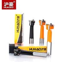 Huhao 1pc cnc carpintaria linha buraco diâmetro de perfuração. 15-35 haste de broca 7.5mm para fazer furo com lâmina de liga resistente ao desgaste alto