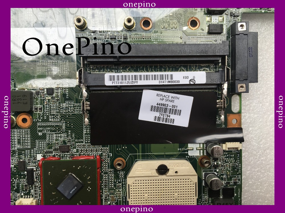 Offer dv6000 dv6500 dv6700 dv6800 dv6900 Laptop motherboard 459565-001 449903-001 Tested fully