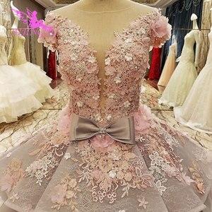 Image 2 - Aijingyu Isreal Gown Vrouwelijke Op Party Lange Trein 2021 2020 Wit Mooie Trouwjurken Voor Oudere Bruiden