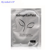 Wholesale Fox Head Packing 50 Pairs/Lot Eye Pads Lash Eyelashes Paper Patches Eye For Eyelash Extension Makeup Tools