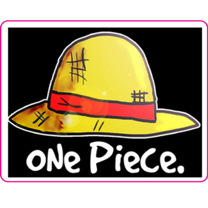 One Piece Sticker Reusable ONEPIECE Fixed Gear Bike/Luggage/Guitar Stickers Christmas Funny Sticker