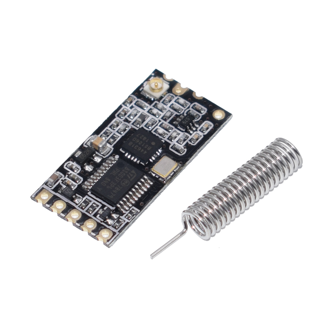 Free Shipping 50pcs HC 12 433Mhz SI4463 Wireless Serial Port Module 1000m Replace Bluetooth