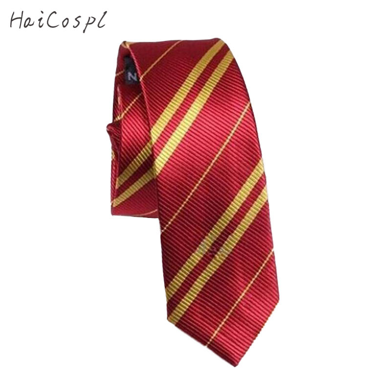 Gryffindor Slytherin Ravenclaw Hufflepuff Adult Kid Cosplay Costume Necktie Ties College Style For Boys&Girls School Party Ties