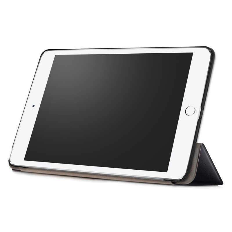 Para Apple nuevo IPad 2017 funda 9,7 Funda de cuero PU para Tablet funda trasera para Ipad2018 Ipad2017 9 7 tri-fold Smart Cover Fundas