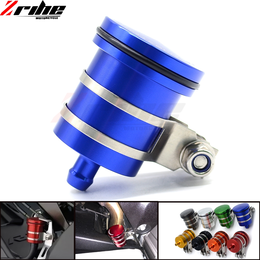 Motorcycle Brake Fluid Reservoir Clutch Tank Oil Fluid Cup FOR SUZUKI HAYABUSA/GSXR1300 GSXR750 GSXR600 <font><b>1000</b></font> B-KING <font><b>DR</b></font> 650 S/SE image