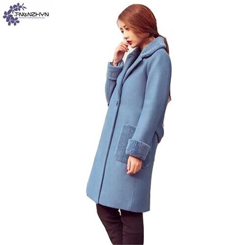 3967fa44f32 TNLNZHYN-NOUVEAU-Femmes-v-tements-De-Laine-tissu-manteau-d-hiver-l-che- grande-taille-paissir.jpg