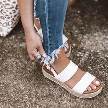 Летние босоножки с леопардовым принтом женские босоножки из искусственной кожи на платформе и высоком каблуке удобная повседневная женская обувь с ремешком и пряжкой размера плюс