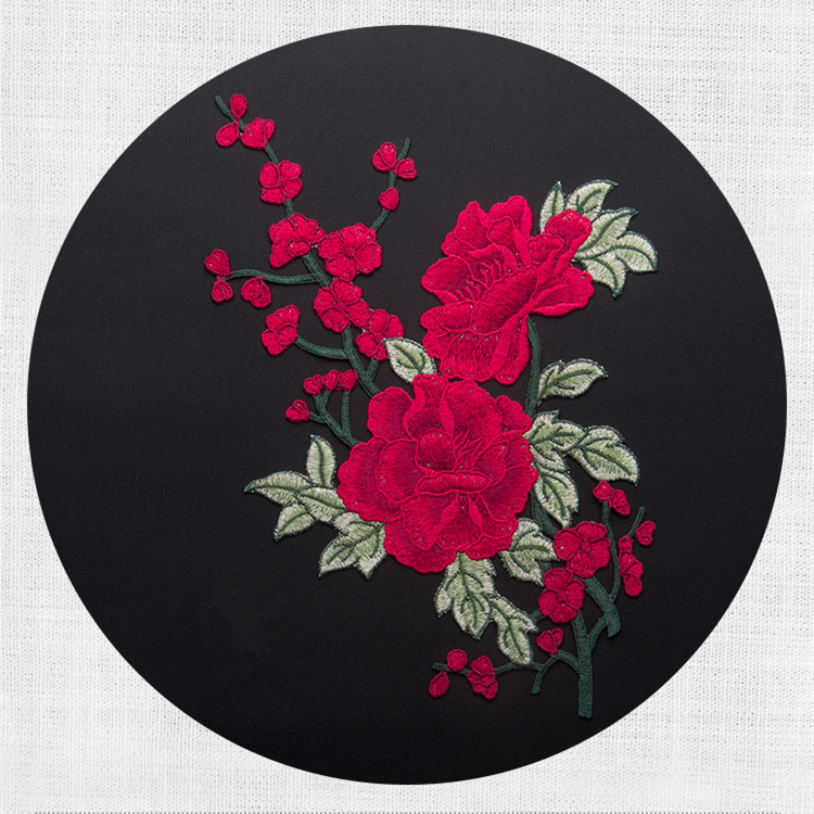 New Design 5Pcs/lot Embroidery Sew On Embroidered Flower Patches High  Quality Appliques Sticker For DIY Garment clothes patch-in Patches from  Home & Garden ...