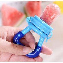 Fresh Fruit Food Kids Nipple Feeding Safe Milk Feeder For Baby Pacifier Bottles Nipple Teat Nibbler Drop Shipping(China)