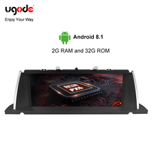 Ugode PX6 10.25 IPS Screen Car GPS Navi For BMW F07 5Series GT Android 9.0 System Audio Radio Multimedia Player BT WIFI SD USB