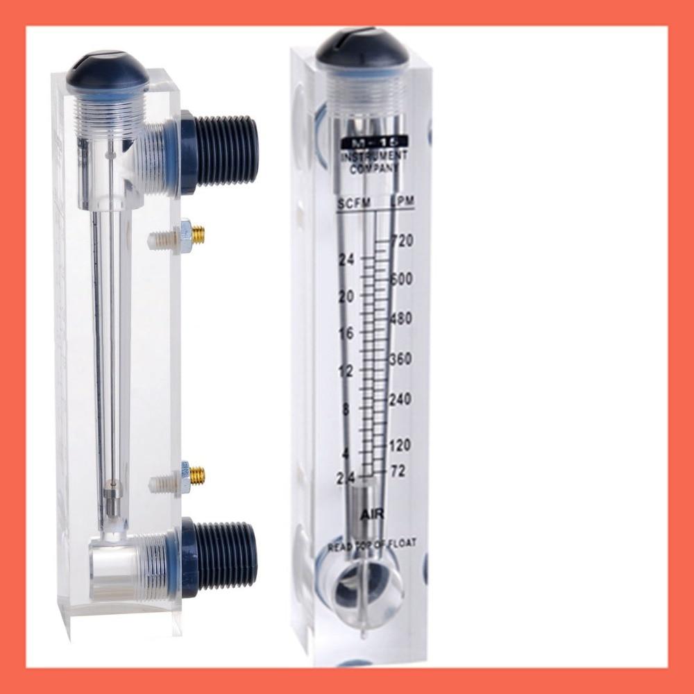 LZM-15(2.4-24SCFM/72-720LPM)panel type with control valve flowmeter(flow meter) lzm15 panel/Oxygen flowmeters Tools Analysis lzm 15 panel type flowmeter flow meter with control valve with stainless steel fitting 1 2 bspt or npt