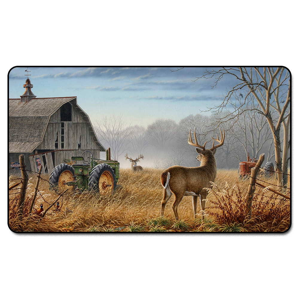 ( Deer Hunting Playmat) MGT Playmat, Magical Board The Games Proxy Play Mat,Custom Playmat Design with Free Bag ...