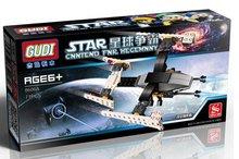 GUDI 8606A Star Wars Earth Border Floating Explorer Minifigure Building Block 71Pcs Bricks Toys Best Toys