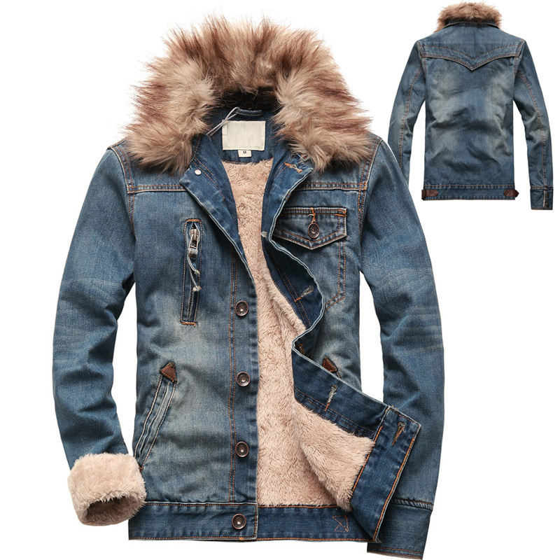 High Quality Fur Denim Jacket Men-Buy Cheap Fur Denim Jacket Men ...