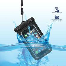 Водонепроницаемый чехол для iPhone 6 6s plus, водонепроницаемые сумки для дайвинга, чехлы для мобильных телефонов на открытом воздухе, подводная сумка для телефона с ремешком на шею
