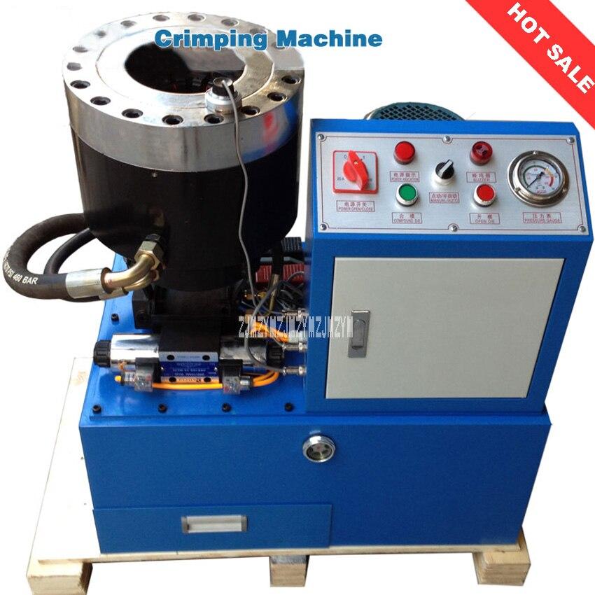 Nouveau haute qualité haute pression tuyau boucle presse KYJ651VS retenue Machine + 114mm 6 ~ 51 IVmm 31.5Mpa 380 V/220 V (en option)
