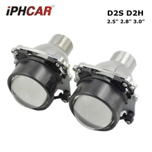 2.5inch d2s d2h Bi xenon hid Projector lens car assembly kit  2.5 2.8 3.0 inch size hella 5 light function  car styling Modify