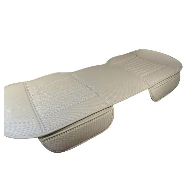 PU Leatherette long rear seat font b Car b font Seat Cushion Cover font b Car