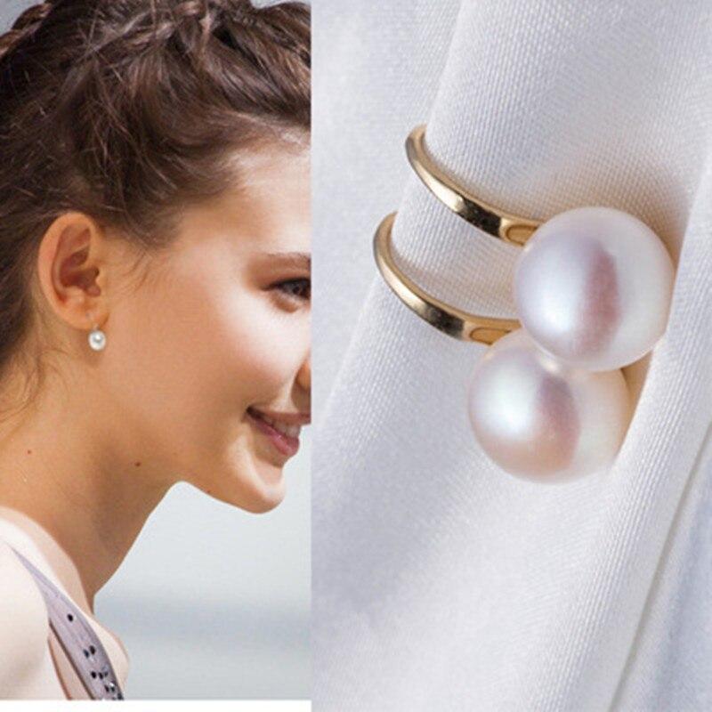 Купить на aliexpress Новые женские модные простые Имитационные жемчужные серьги Качественные серьги для невесты ювелирные изделия оптом