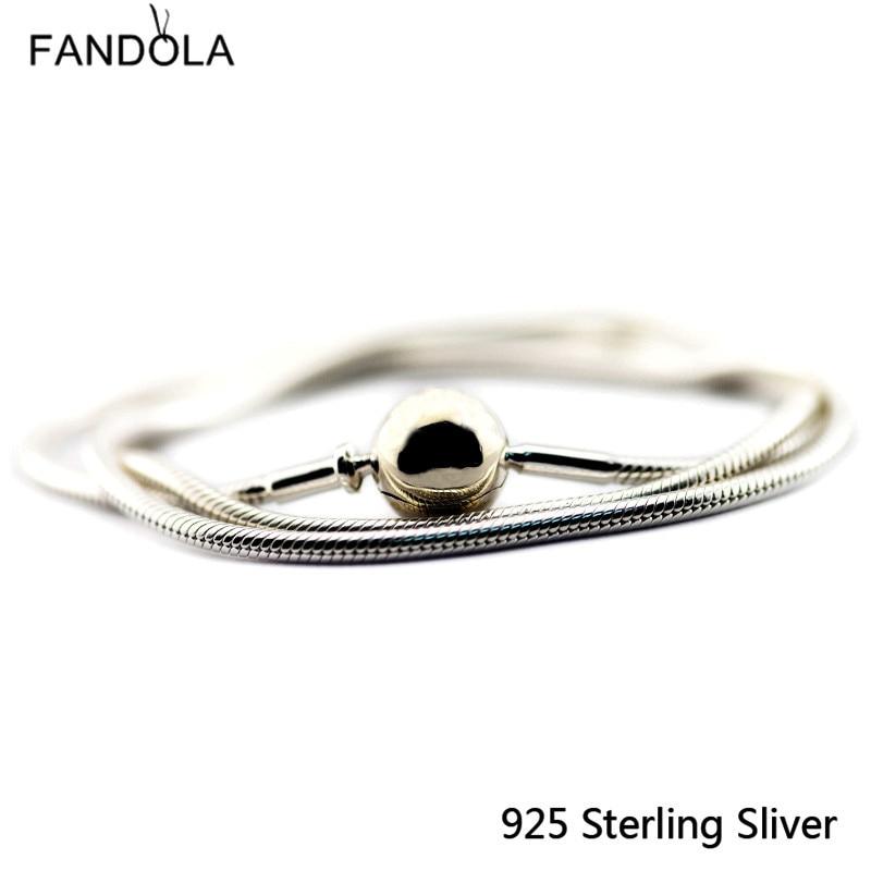 CKK Essence Bracelets Sternenhimmel Verschluss 925 Sterling Silber - Edlen Schmuck - Foto 2