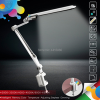 Italy SL TL316 Clip LED Desk Lamp office table lamp student reading lamps fashion lights Free rotation Angle Memory function 10W