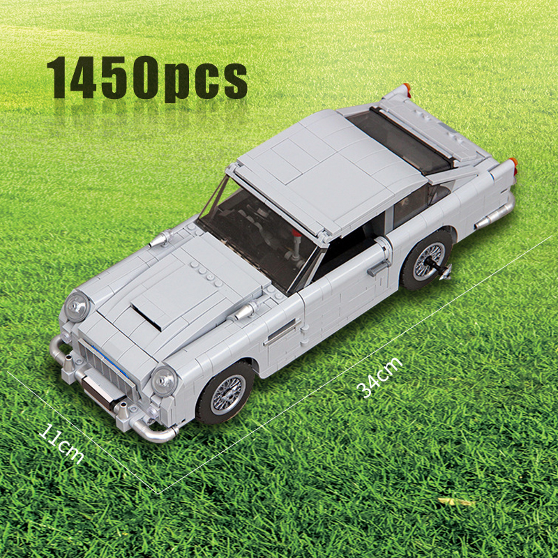 Compatible WithTechnic Series 10262 Aston Martin DB5 Set Building Blocks Bricks Children Car Model Gifts Toys(China)