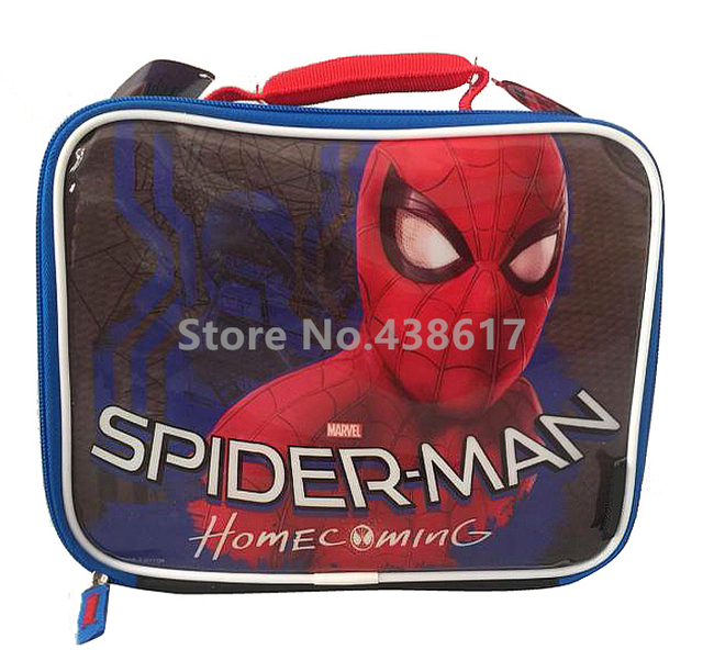 653dc00e83 New Spider Man Spiderman Lunch Bag for Kids Boys Children School Lunch Box  Cartoon Insulated Lunchbox Picnic Food Thermal Bags