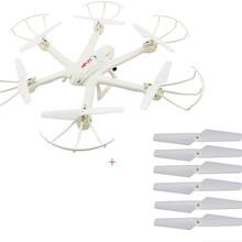 F15066-D White MJX X600 2.4G 6 Axis 3D Roll FPV Wifi Helicopter RC Drone Quadcopter UFO No Camera with Extra Props