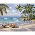 40x50 см DIY Краски по номеру набора на холсте маслом Краски ing Настенный декор Пляжный Пейзаж
