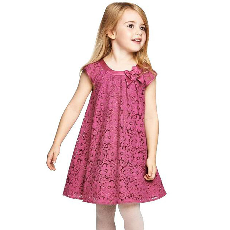 Summer Style Lace Girls Dress Baby Girls Casual Dresses